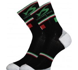 Socquette Haute Carbone ITALIE Noir